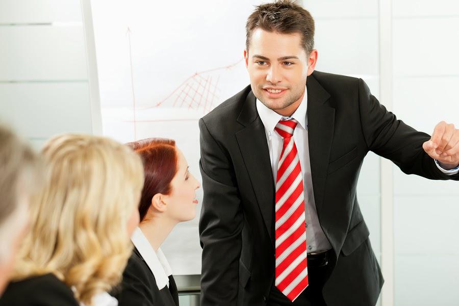 giovane manager