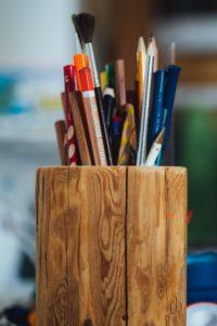 porta penne legno feng shui
